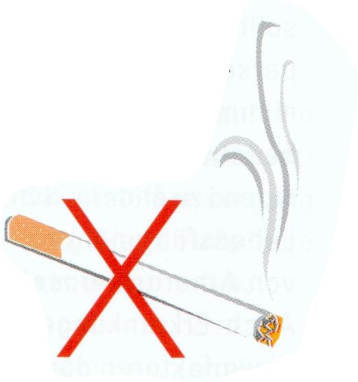 Ich habe Rauchen aufgegeben als ist beschäftigt